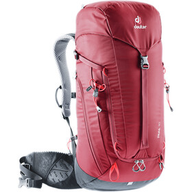 Deuter Trail 30 Mochila, cranberry-graphite